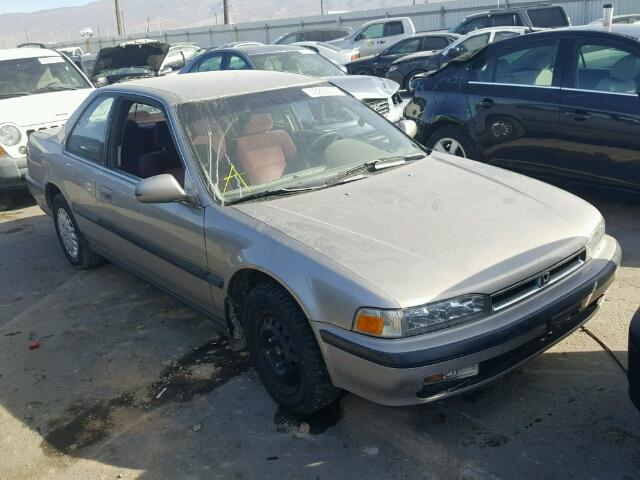Salvage Certificate 1991 Honda Accord Coupe 22L 4 For Sale in