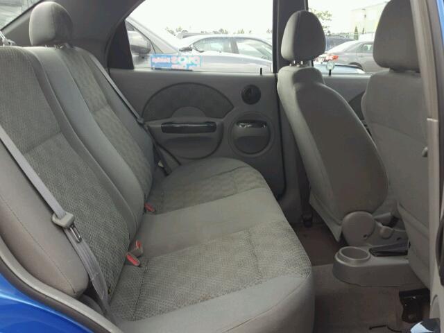 No Brand  Unfit 2005 Chevrolet Aveo Sedan 4d 16L 4 For Sale in