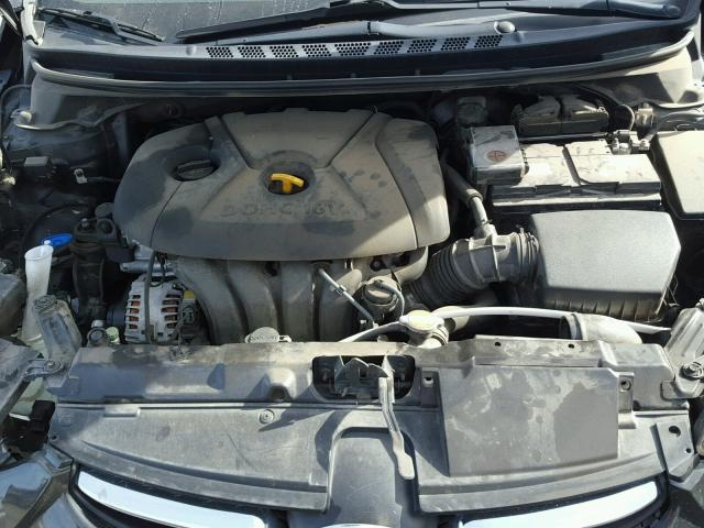 Salvage Certificate 2011 Hyundai Elantra Sedan 4d 18L 4 For Sale