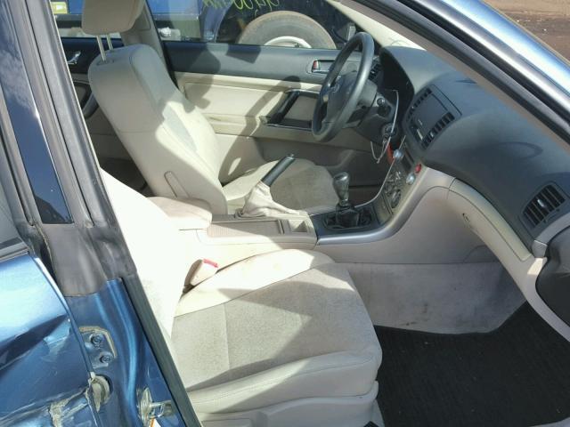 Salvage Title 2008 Subaru Legacy Sedan 4d 25L 4 For Sale in New