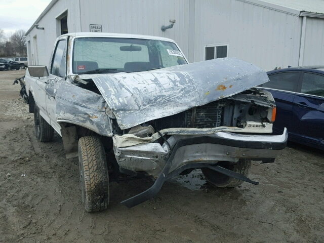 Salvage 1987 FORD F250 - Small image. Lot 18398436