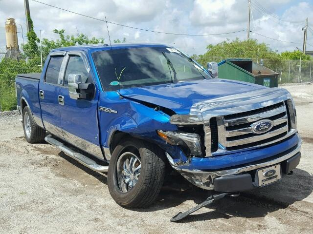 Salvage 2010 FORD F150 - Small image. Lot 35524257