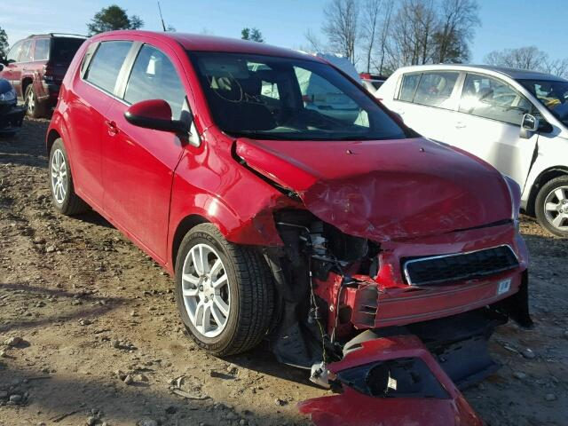 Salvage 2012 CHEVROLET SONIC - Small image. Lot 19336907