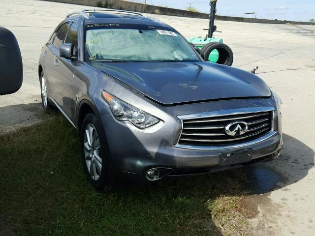 2012 INFINITI FX35 VIN: JN8AS1MU1CM122319 Auction Date: 01/02/2018. Damage:  WATER/FLOOD Auction: HOUSTON, TX Current Offer: $5600