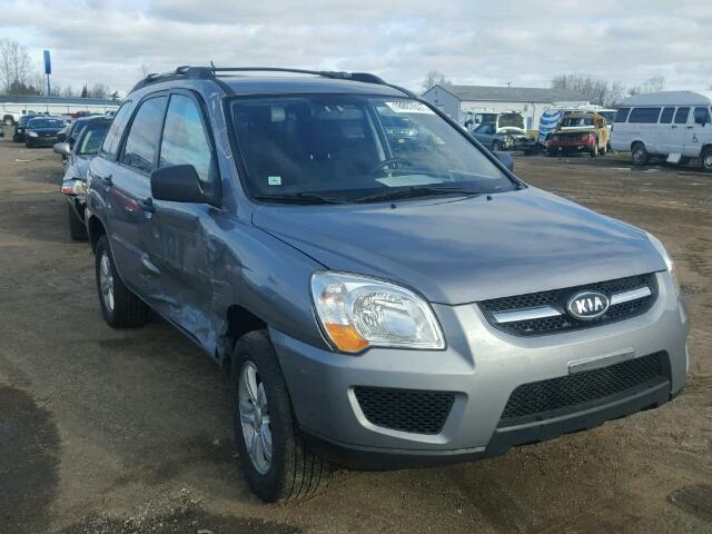 Salvage 2009 KIA SPORTAGE - Small image. Lot 18897027
