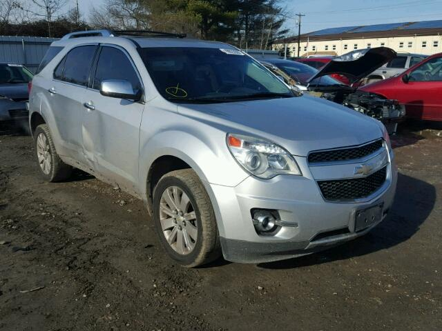 Salvage 2011 CHEVROLET EQUINOX - Small image. Lot 19023507
