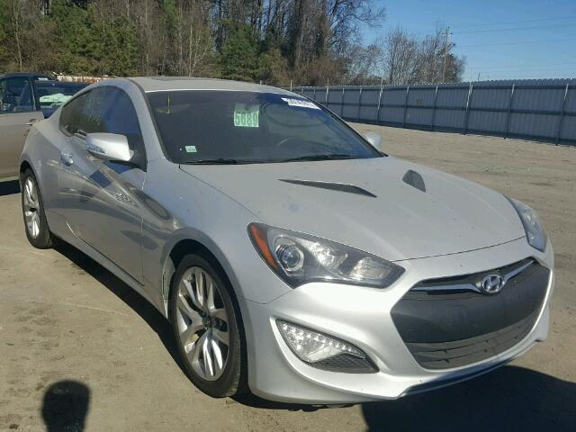 Salvage 2014 HYUNDAI GENESIS - Small image. Lot 20147817