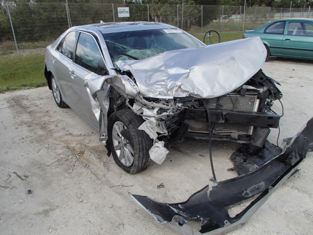 Salvage 2012 TOYOTA CAMRY - Small image. Lot 14557165