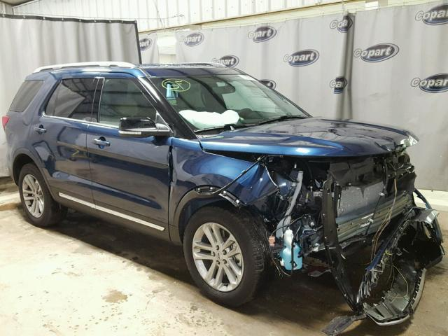 2017 ford explorer 4dr spor 3.5l 6 gas - blue - للبيع - tifton (ga