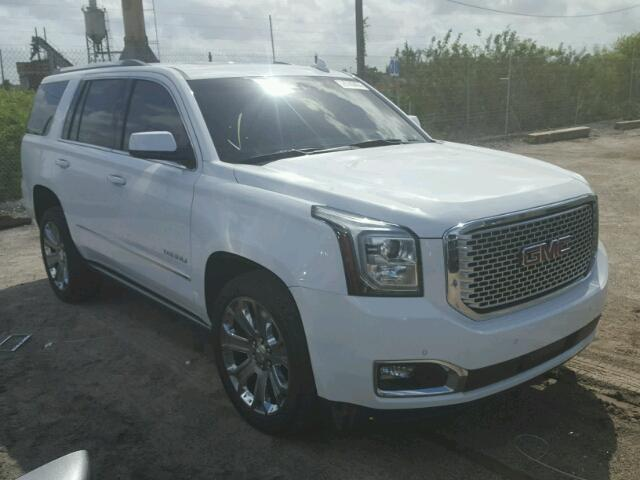Clean Title salvage History 2016 GMC Yukon 4dr Spor 6 2L 8 For Sale