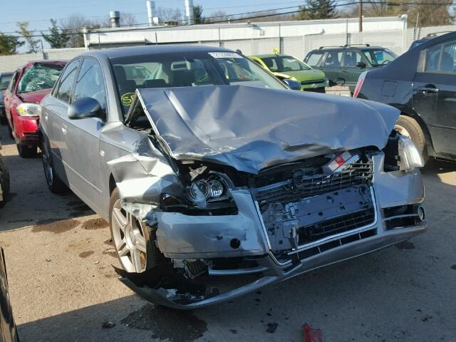 Salvage 2007 AUDI A4 - Small image. Lot 21228837