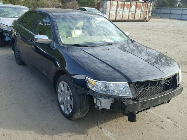 Salvage Certificate 2007 Lincoln MKZ Sedan 4d 3.5L 6 For Sale in ...