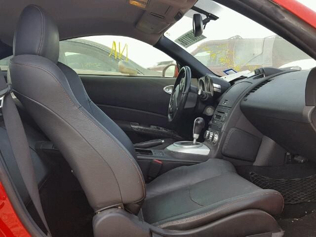 Salvage Vehicle Title 2008 Nissan 350z Coupe Coupe 35l 6 For Sale