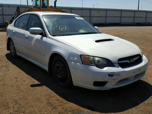 2005 Subaru Legacy Sedan 4d 25l 4 Gas White Brighton
