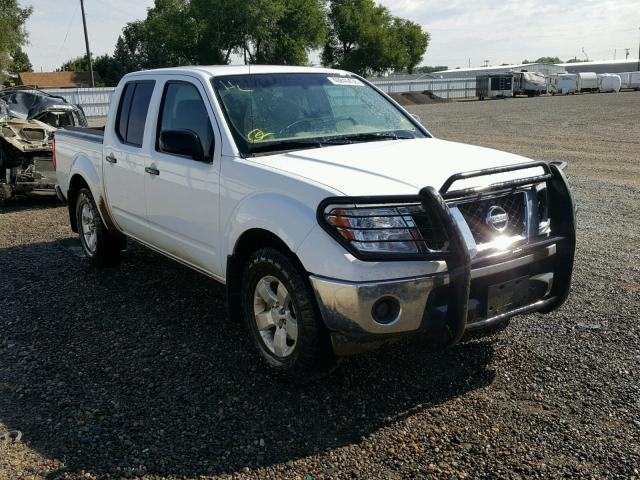 2009 Nissan Frontier C Crew Pic 40l 6 Gas White