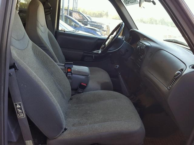Vin 1FTYR10V1YPB41852 2000 FORD RANGER   Interior View Lot 43020468.