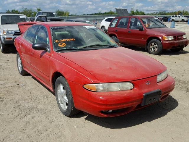 Salvage Certificate 2003 Oldsmobile Alero Sedan 4d 22l 4 For Sale