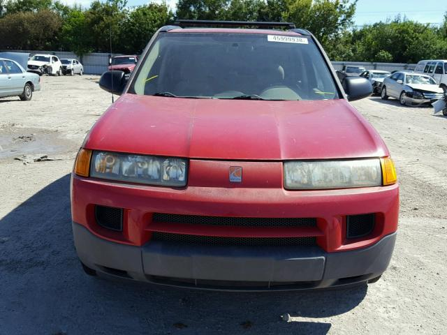 2002 Saturn Vue 4dr Spor 22l 4 Gas Red Riverview Fl