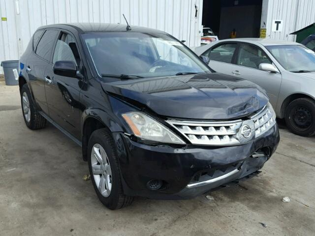 2007 NISSAN MURANO SL   Left Front View Lot 46071448.