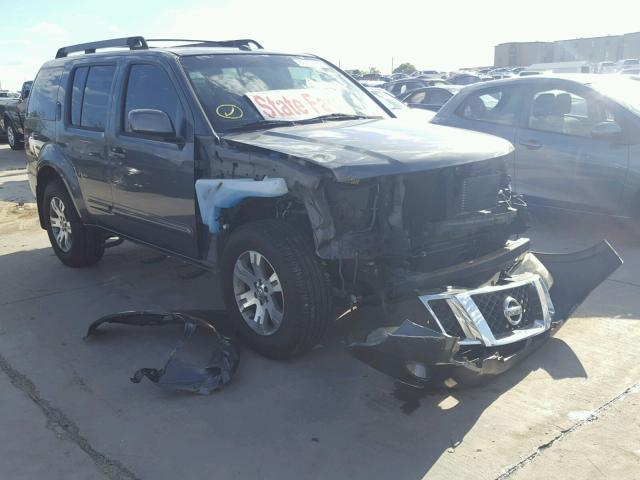 Salvage Vehicle Title 2009 Nissan Pathfinder 4dr Spor 40l 6 For