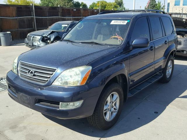 Vin JTJBT20X150089414 2005 LEXUS GX 470   Right Front View Lot 44833248.