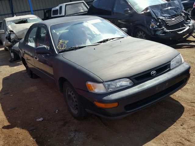 1996 TOYOTA COROLLA DX   Left Front View Lot 42490908.