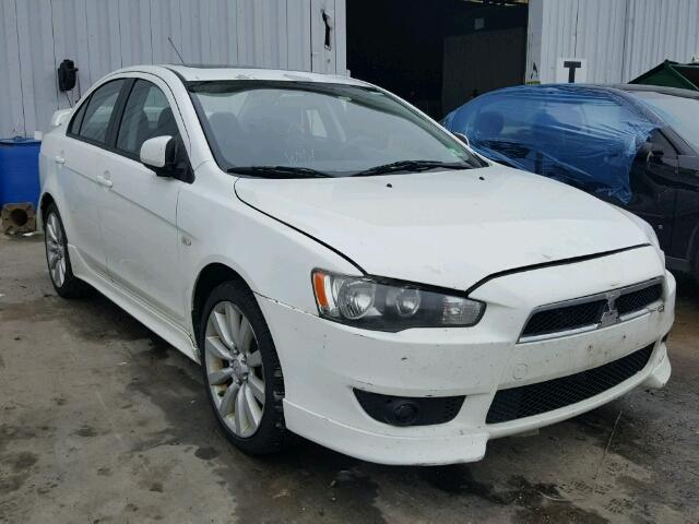 2008 MITSUBISHI LANCER GTS   Left Front View Lot 45459778.