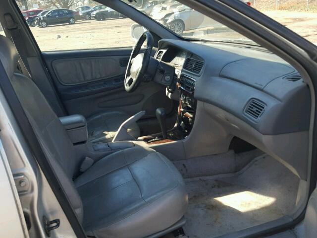 Salvage Certificate 2001 Nissan Altima Sedan 4d 24l 4 For Sale In