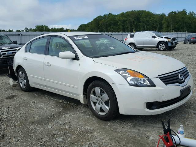 2008 Nissan Altima Sedan 4d 25l 4 Gas White West Warren