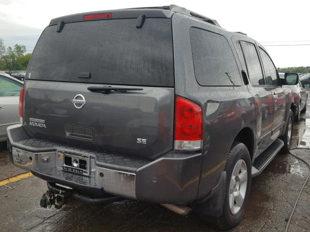 Clean Title 2004 Nissan Armada Se 4dr Spor 56l 8 For Sale In
