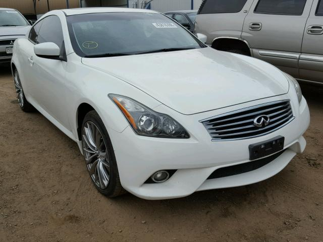 2012 Infiniti G37 Coupe 37l 6 Gas White Brighton Co