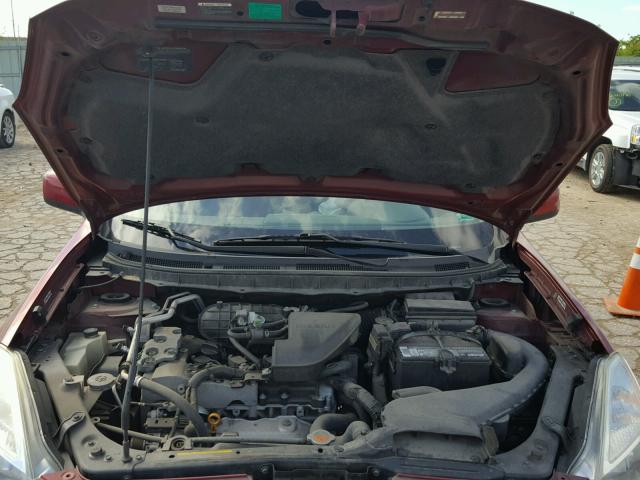 Salvage Certificate 2008 Nissan Rogue S 4dr Spor 25l 4 For Sale In