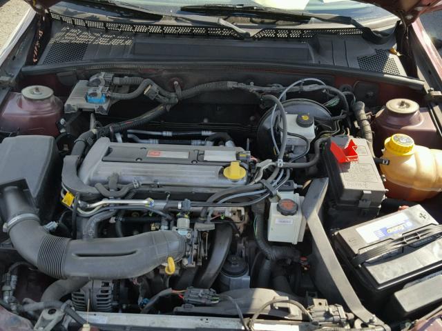 2002 Saturn L200 Sedan 4d 22l 4 Gas Maroon Portland Or