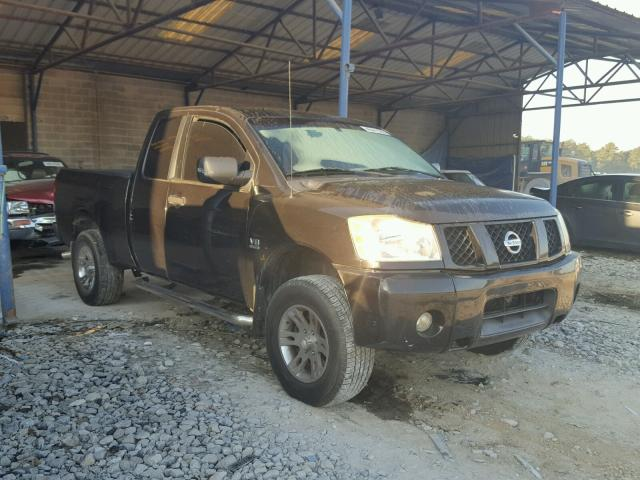 Salvage Title 2004 Nissan Titan Xe Club Cab 56l 8 For Sale In