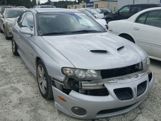 Salvage Title 2005 Pontiac Gto Coupe 60l 8 For Sale In Loganville