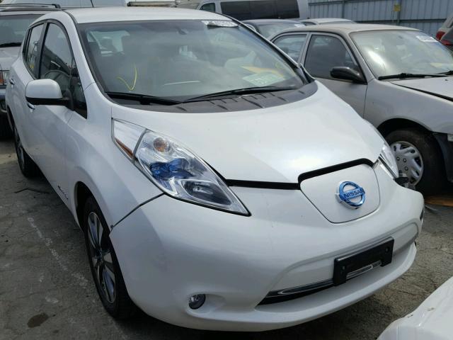 2013 Nissan Leaf Hatchbac U Electric White Martinez Ca