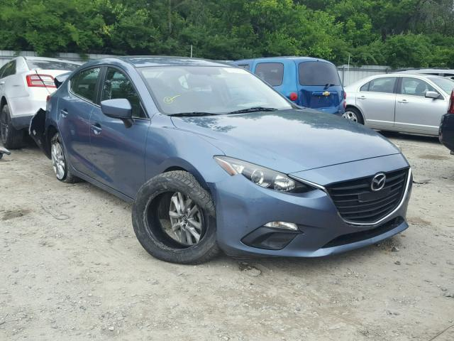 Salvage Certificate 2014 Mazda 3 Sedan 4d 20l 4 For Sale In