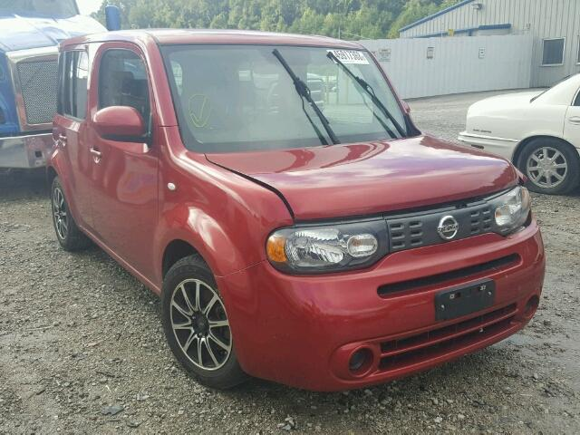 Salvage Title 2009 Nissan Cube Base 4dr Spor 18l 4 For Sale In