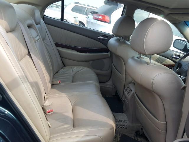 Salvage Certificate Acura Tl Sedan D L For Sale In - 2000 acura tl interior