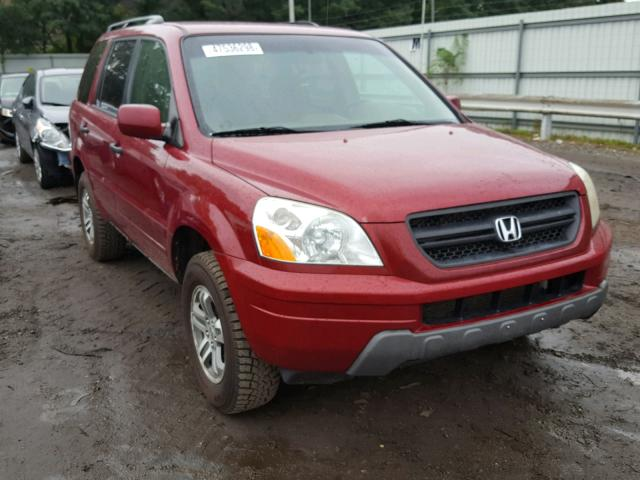 2005 HONDA PILOT EX   Left Front View Lot 47536298.