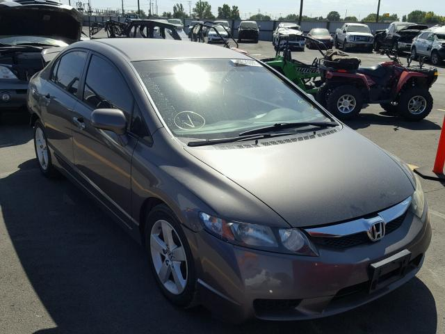 2011 HONDA CIVIC LX S   Left Front View Lot 46325098.