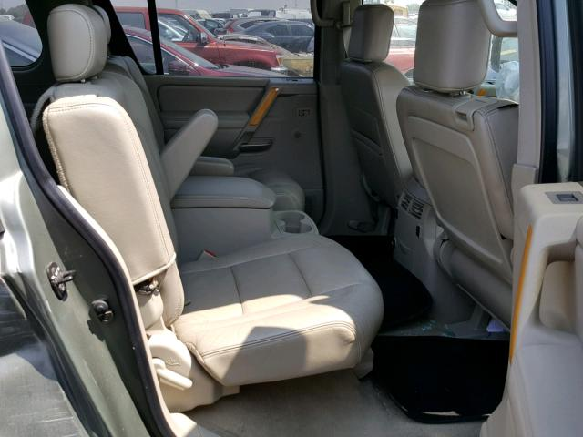 Salvage Certificate 2004 Infiniti Qx56 4dr Spor 57l 8 For Sale In