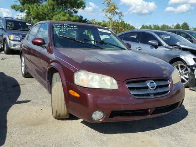 2002 NISSAN MAXIMA GLE   Left Front View Lot 44416008.