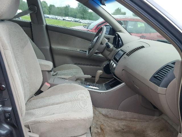Salvage Title 2005 Nissan Altima S Sedan 4d 25l 4 For Sale In
