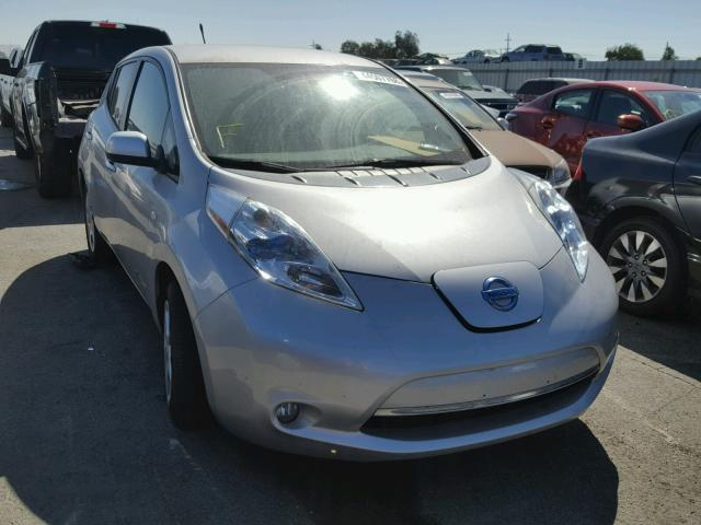 2011 Nissan Leaf Hatchbac Electric Silver Martinez Ca