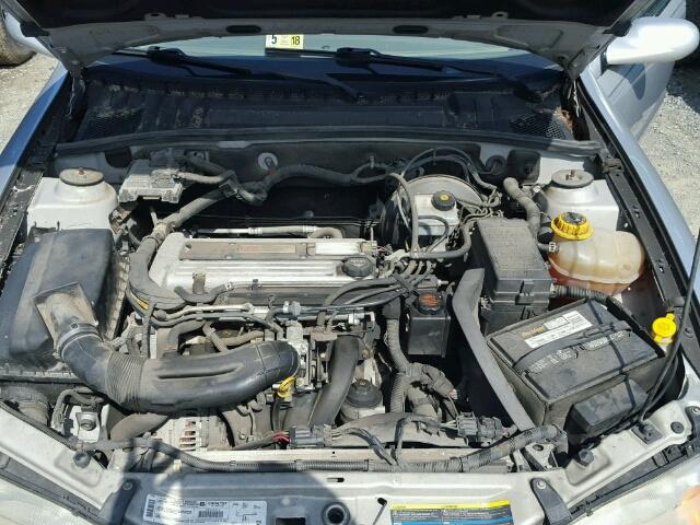 2002 Saturn L200 Sedan 4d 22l 4 Gas Silver Chambersburg