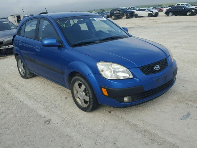 Salvage Vehicle Title 2006 Kia Rio Hatchbac 16l 4 For Sale In New