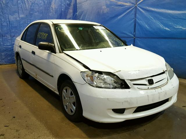 2004 HONDA CIVIC DX V   Left Front View Lot 47159158.