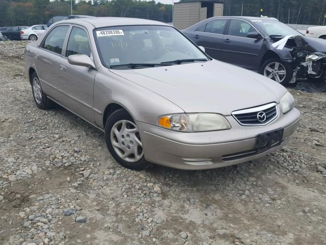 2002 MAZDA 626 LX   Left Front View Lot 48208398.