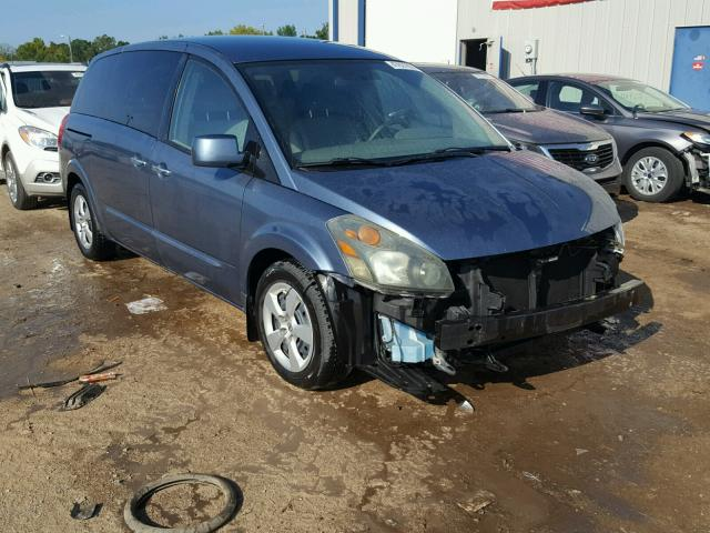 Bill Of Sale 2008 Nissan Quest S Sports V 35l 6 For Sale In
